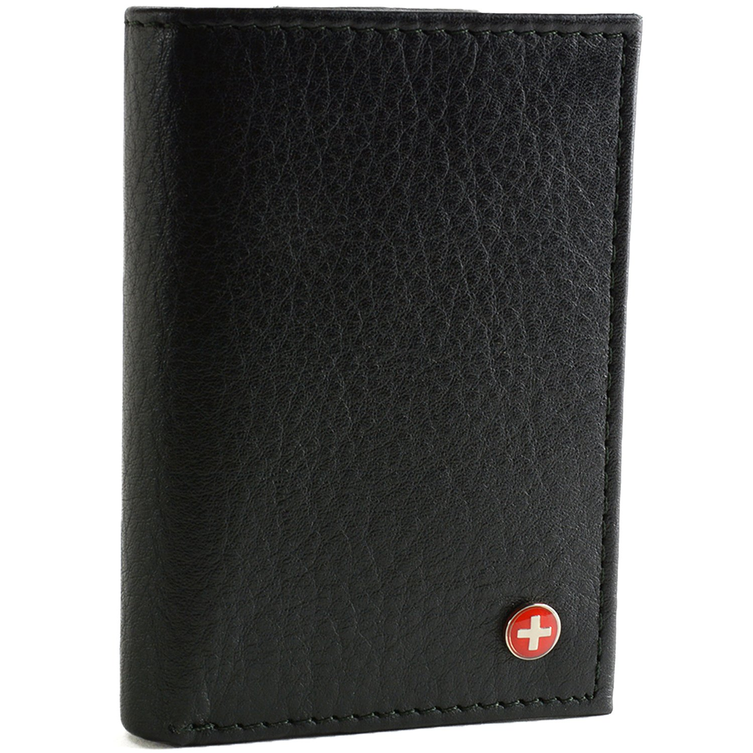 Amazon Com Alpine Swiss Mens Wallet Rfid Blocking Extra Capacity