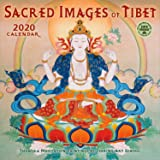 Sacred Images of Tibet 2020 Wall Calendar: Thangka Meditation Paintings