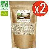 Psyllium Bio AB - 500gr (Blond Téguments) 2 sachets de 250gr