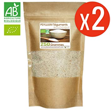 Psyllium Bio AB - 500gr (Psyllium Blond Téguments)