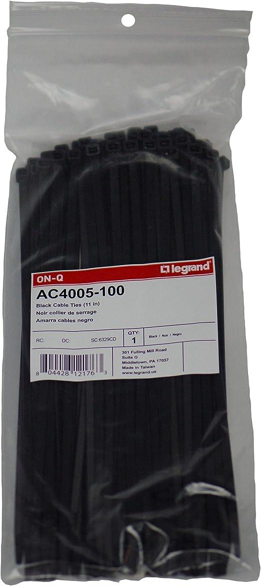 Legrand AC4005-100 - Bridas para cables (paquete de 100 unidades ...