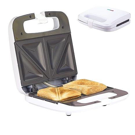 Kontaktgrill Sandwichmaker Sandwichtoaster 750W Antihaftbeschichtung Toast