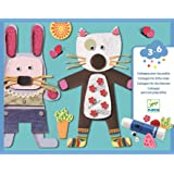 DJECO Le Petite Artist Collages for Little Ones Activity Set