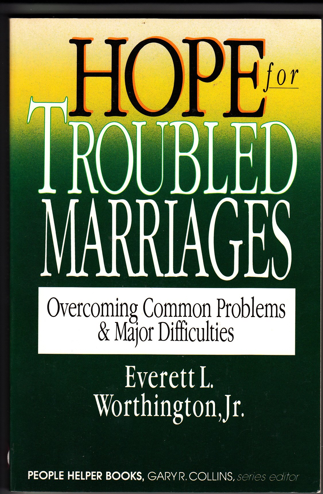 Hope Troubled Marriages Overcoming Difficulties product image