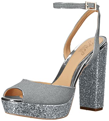 819544ba2d2d Amazon.com  Badgley Mischka Jewel Women s Luke Heeled Sandal  Shoes