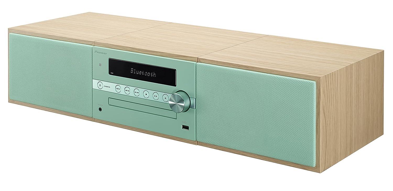 Pioneer X-CM56-GR - Microcadena Hi-fi con Bluetooth , Color Turquesa