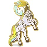 Unicorn Enamel Pin Astronaut Space Unicorn In a Suit Colorful Lapel Pin