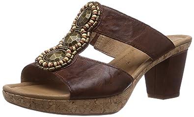zarte Farben Sportschuhe Freiraum suchen Gabor Shoes Women's Gabor Clogs, Brown (copper), 44 EU ...