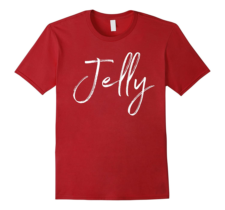 Jelly Matching Peanut Butter Shirt Couples Halloween Costume-FL