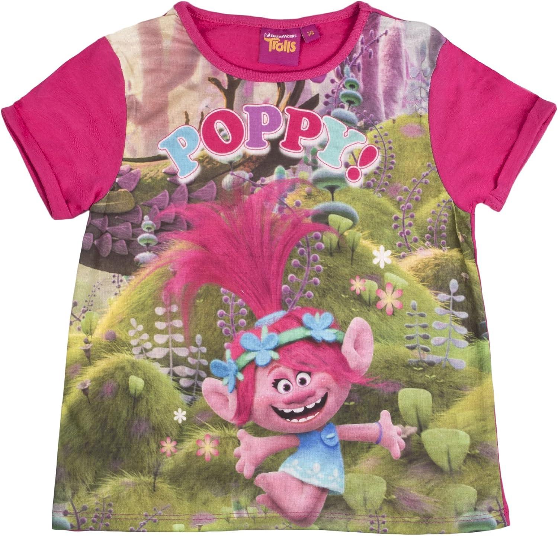 Lora Dora Trolls Girls Short Pajamas Pjs