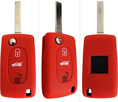 Ck Citroen Auto Schlüssel Hülle Key Cover Case Etui Elektronik