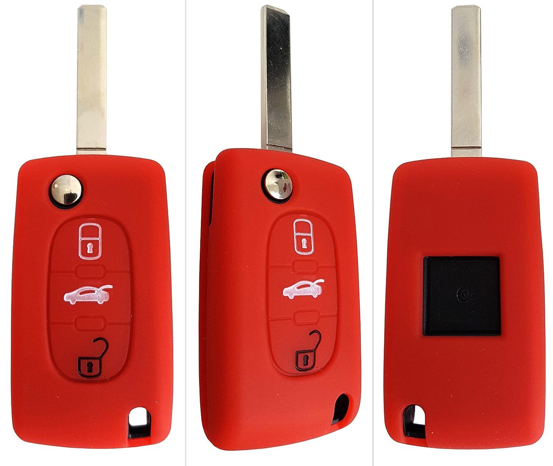 Peugeot Portachiavi//cover//custodia per chiavi auto in silicone CK