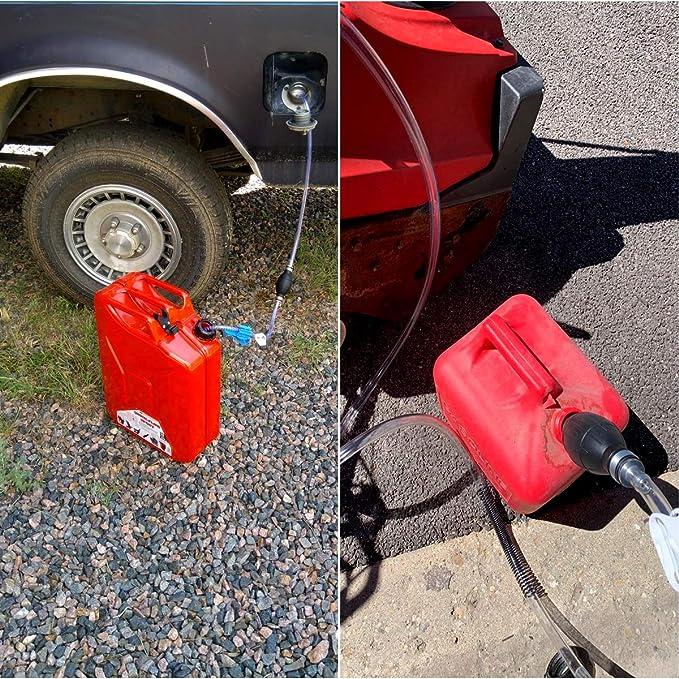 SENZEAL kit de bomba de sifón de transferencia de combustible ...