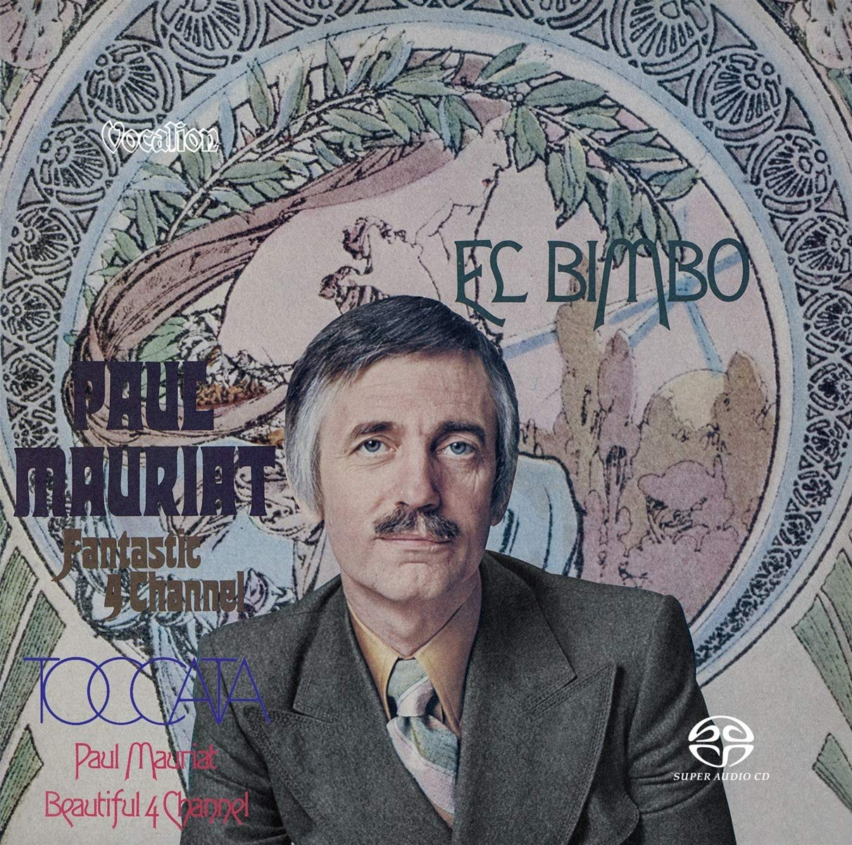 SACD : Paul Mauriat - El Bimbo & Toccata (Limited Edition, Hybrid SACD, Multichannel/Stereo SACD, Asia - Import)