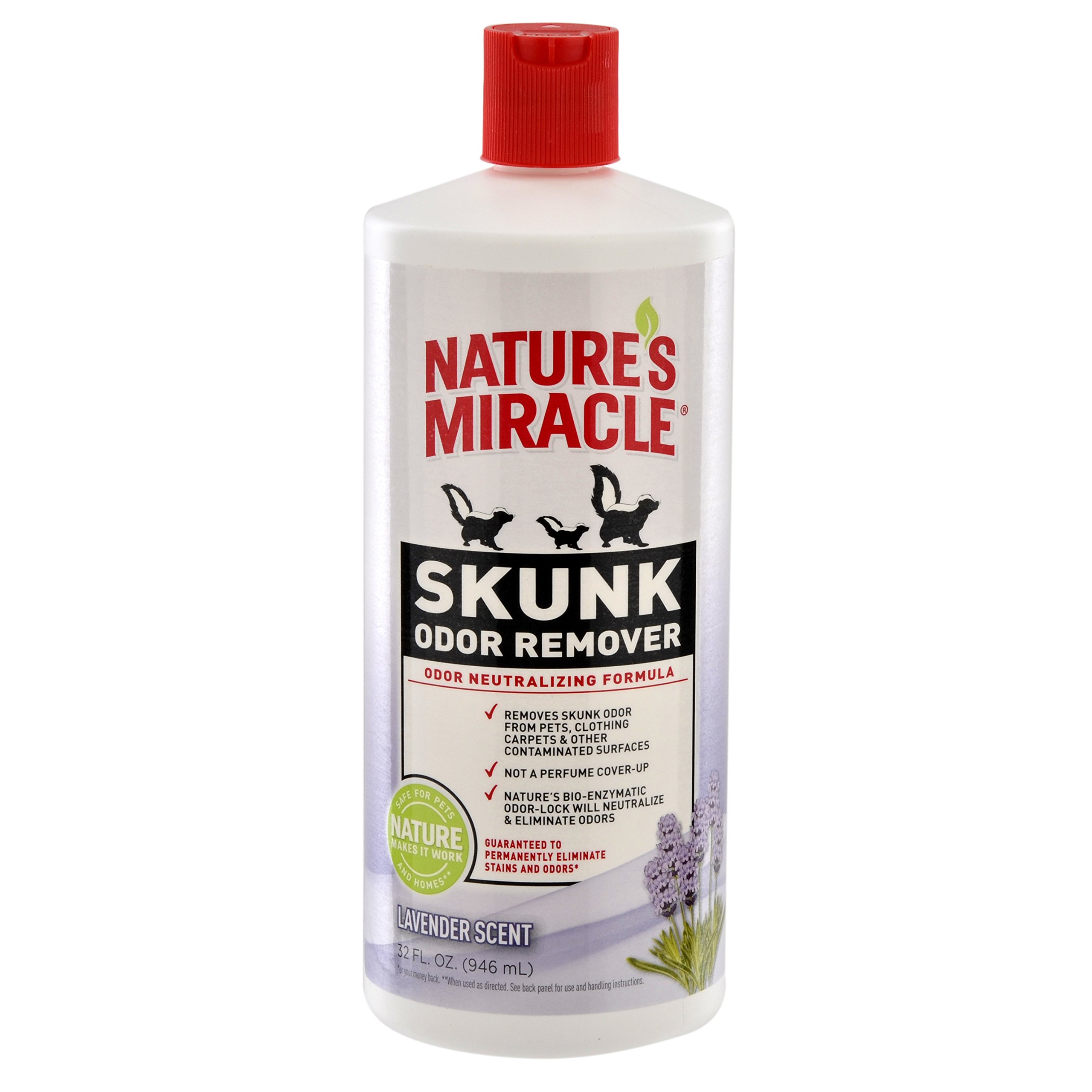 Nature's Miracle Skunk Odor Remover, Lavender Scent, 32 fl. oz.