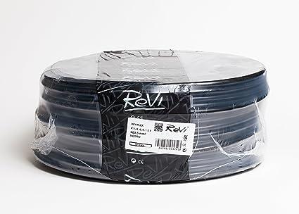 Cable RV-K 0,6/1kV 4x2,5mm 50m (Negro)