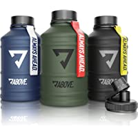 ABOVE. 1.3L - 2.2L Roestvrijstalen waterfles I Extra Drinkdop I BPA Vrij I Koolzuurhoudende I Duurzame & Lekvrije…