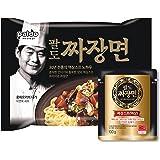 Paldo Lee Yeonbok Jjajang Myun / Jjamppong Noodle Soup (Jjajang, 16 Pack)