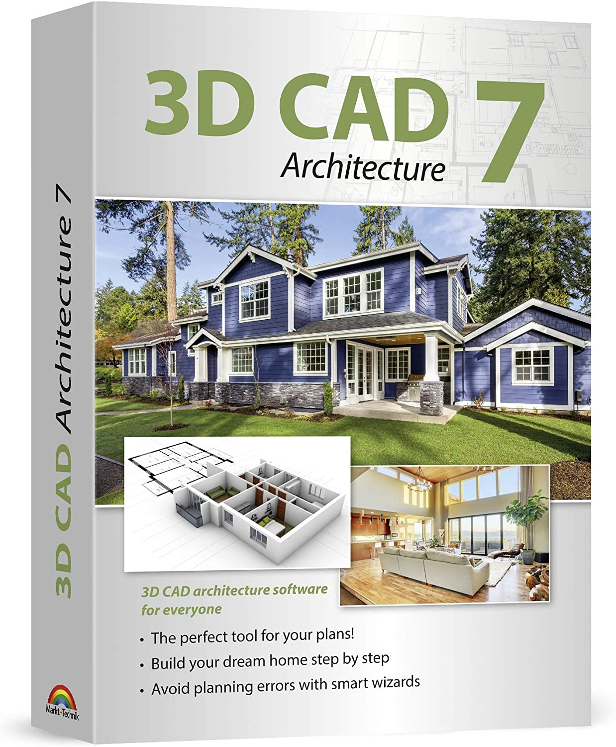 Amazon Com 3d Cad 7 Architecture Plan Design Buildings From Initial Rough Sketches To The Finished Blueprints Cad And Architecture Software For Windows 10 8 1 7