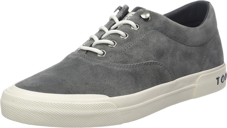 Tommy Hilfiger Heritage Suede Sneaker, Zapatillas para Hombre