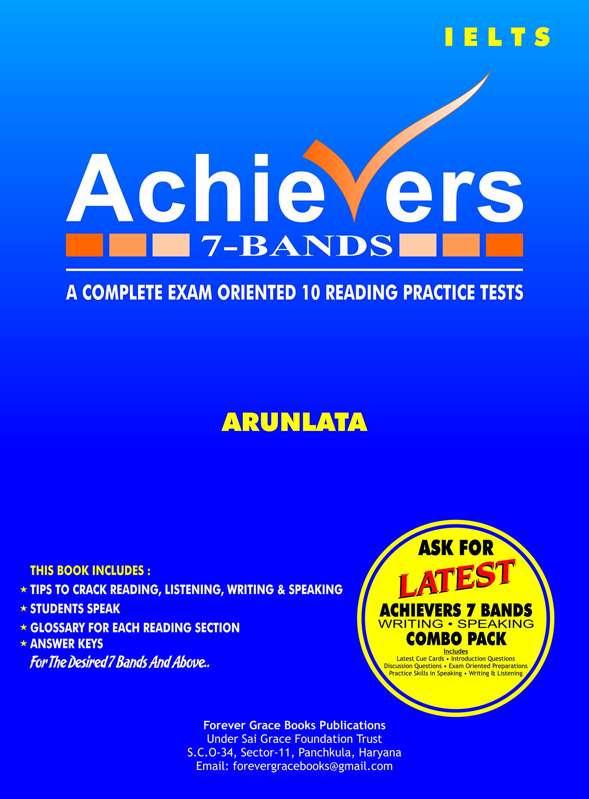 Amazon in: Buy IELTS Achievers 7-Bands 4 in one combo Pack