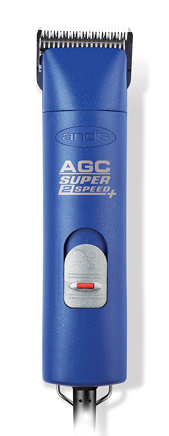Andis UltraEdge AGC Super 2-Speed Detachable Blade Clipper, Professional Animal Grooming, AGC2 (22405)