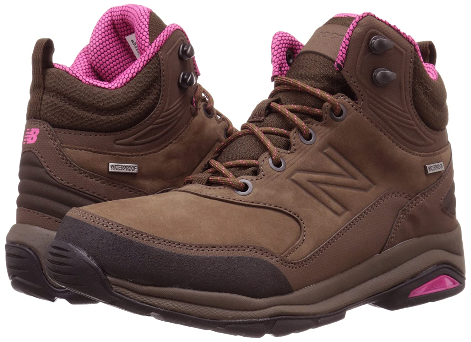 New Balance Women's WW1400v1 Walking Shoe B00V3NER7U 7 B(M) US|Brown