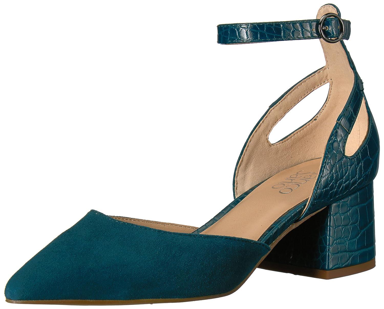 Franco Sarto Women's Caleigh Pump B06XSM61H3 8 B(M) US|Turquoise