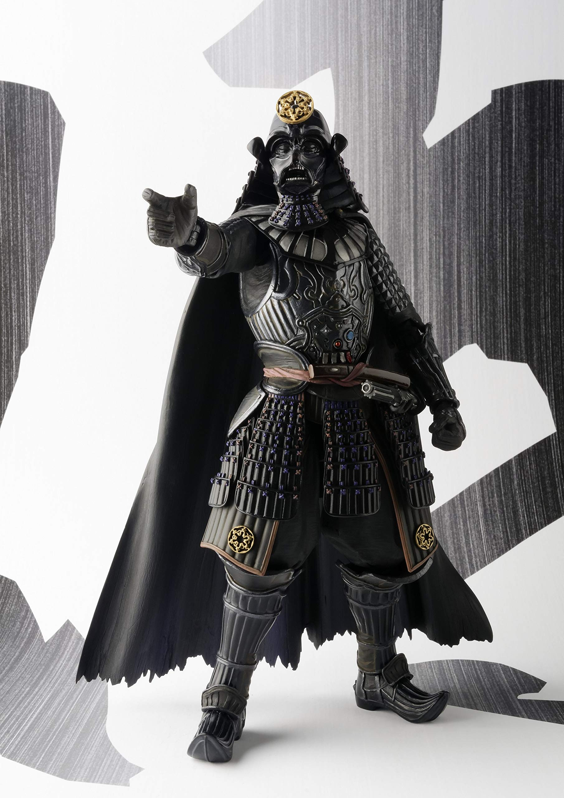 "Bandai Tamashii Nations Movie Realization Samurai General Darth Vader ""Star Wars"" Action Figure(Discontinued by manufacturer)"