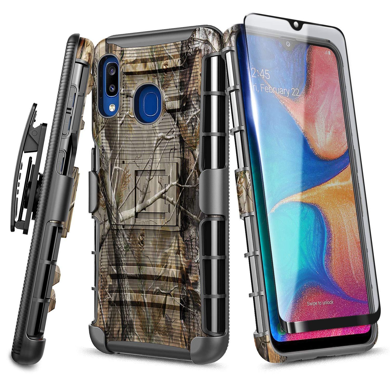 Funda + Vidrio Para Samsung Galaxy A20 / A30 Con Pie Nagebee [7tm18cyw]
