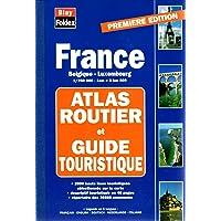 Atlas routier et touristique France-Belgique-Luxembourg, 1/250000