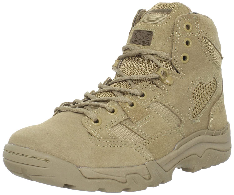 """5.11 Men's Taclite 6"""" Coyote Tactical Boot"""