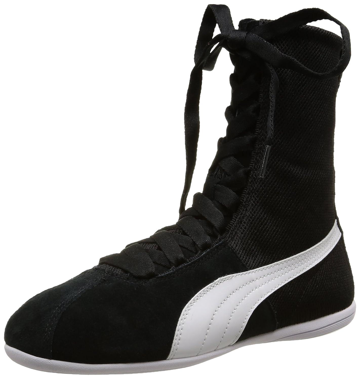 Puma Eskiva Hi Textured - Zapatillas de Deporte Mujer 37 EU|Negro - Negro
