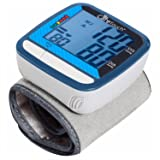 "Care Touch Fully Automatic Wrist Blood Pressure Cuff Monitor - Classic Edition, 5"" - 8"" Cuff Size- Batteries and Case Included"