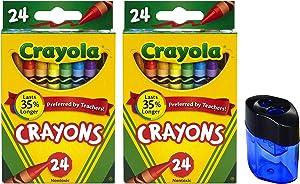 Crayola Crayons (crayons + sharpener)