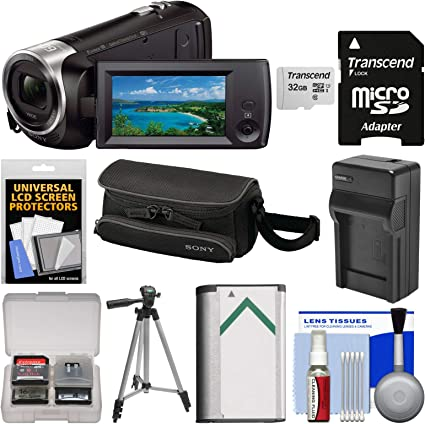 Amazon.com: Sony Handycam HDR-CX440 8 GB WIFI 1080P HD ...