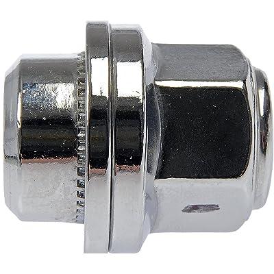 Dorman 611-278 Wheel Lug Nut for Select Acura / Honda Models - Chrome, 10 Pack: Automotive [5Bkhe0806483]