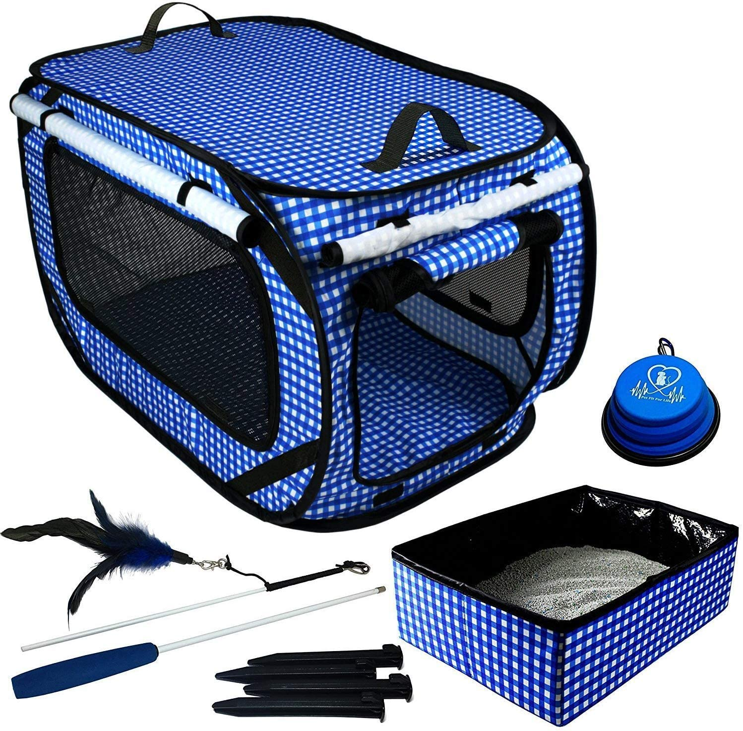 best cat carrier for long distance travel with litter box
