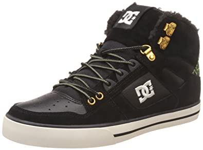 5889d7dbf3a Amazon.com: DC Shoes Mens Spartan WC WNT High Top Leather Trainers ...