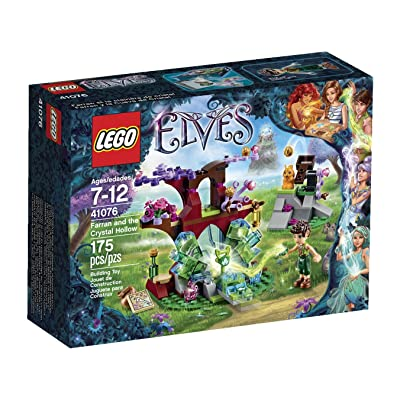 Lego Elves Farran and The Crystal Hollow 41076: Toys & Games