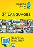 Rosetta Stone Learn Languages: 1 User, 12 month subscription