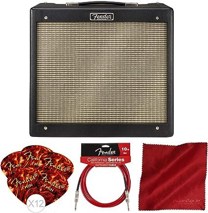 Fender Blues Junior IV amplificador de guitarra eléctrica de 15 W ...