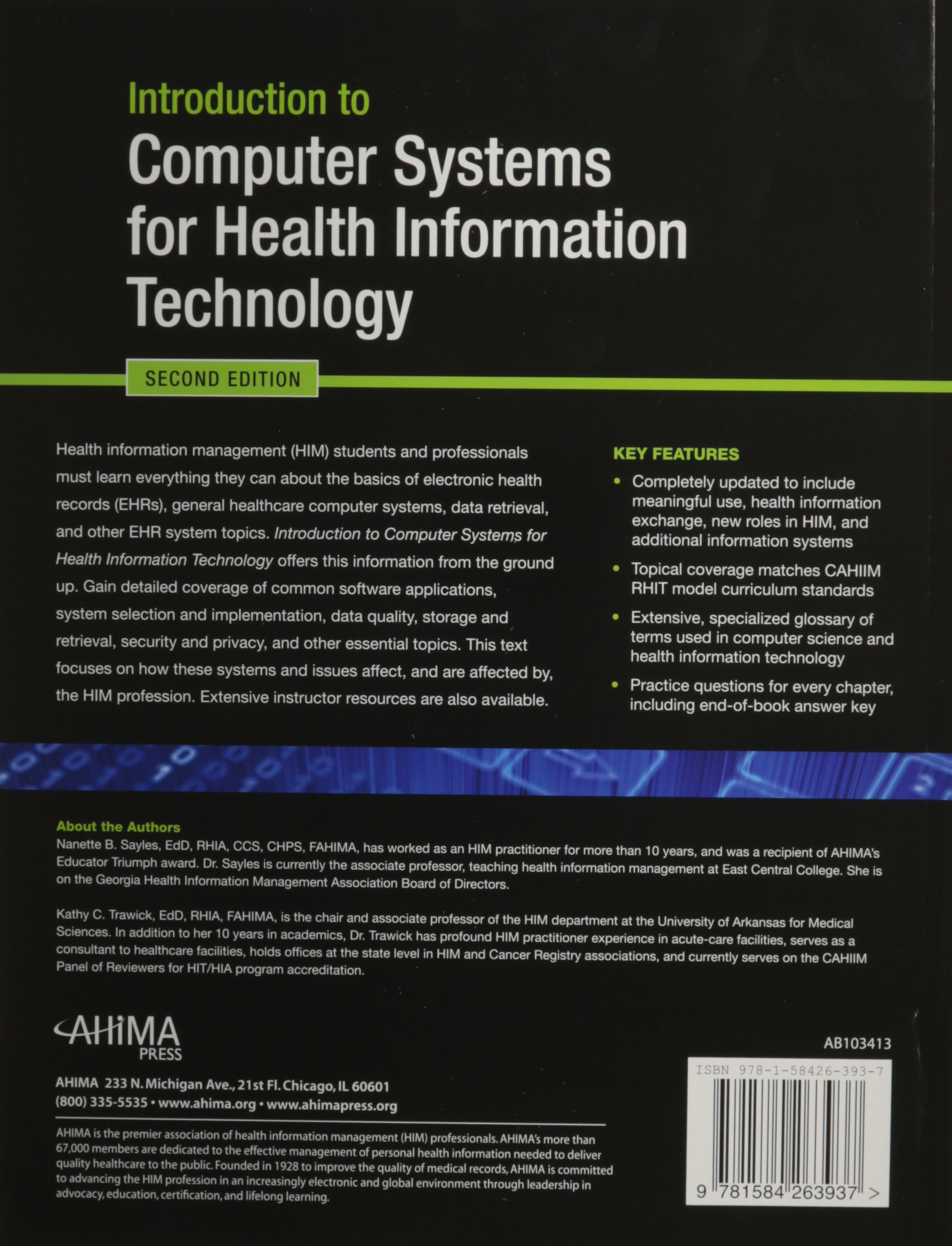 Fresh gallery of health information technology certification introduction to puter systems for health information xflitez Choice Image