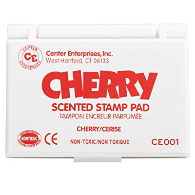 Center Enterprises Inc. Scented Stamp Pad, Cherry/Red: Industrial & Scientific