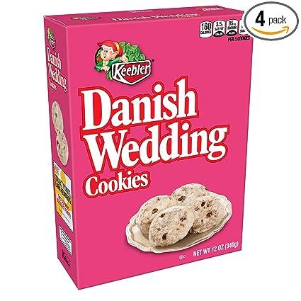 Keebler Danés Cookies, 12-Ounce Cajas de boda (4 unidades ...