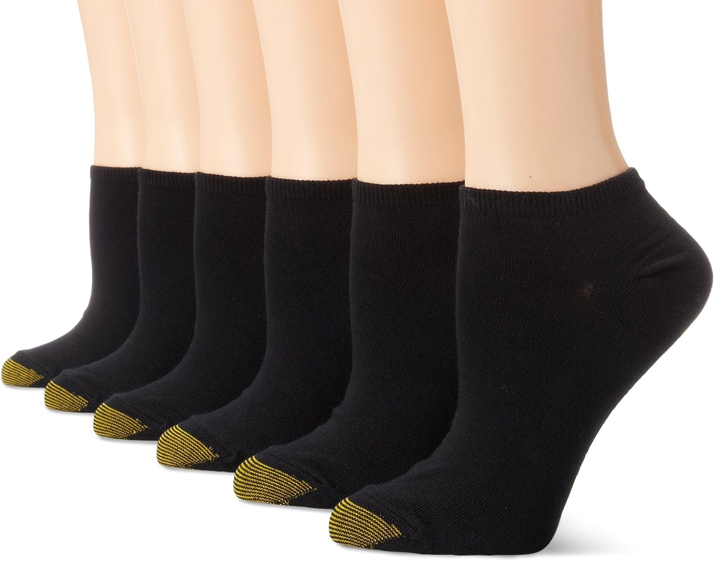 Men/'s Gold Toe Ankle Socks 6-Pack Extended Sizes Hosiery