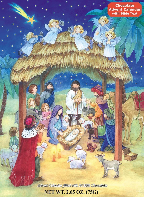 Religious Advent Calendar Ideas : Advent paper chain countdown free printable happy home fairy