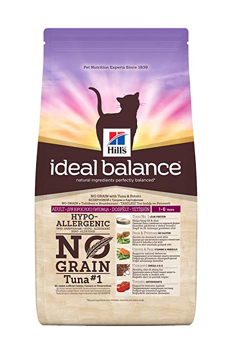 Hills science Pienso para gatos adultos hills ideal balance atún ...