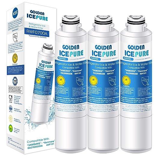 GOLDEN ICEPURE Reemplazo del Filtro de Agua del refrigerador para ...