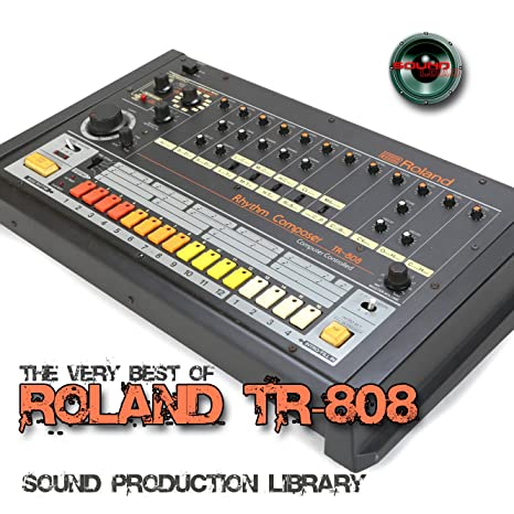 Amazon com: for ROLAND TR-808 - Large Original 24bit WAVE Studio